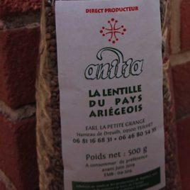 Lentilles – 500g- 1 kg-