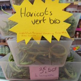 Haricots verts Bio – 500 g