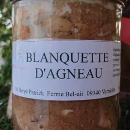 Conserve Blanquette Agneau – 750 g