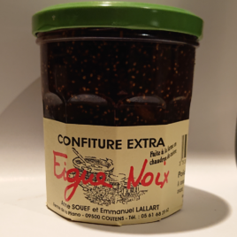 Confiture Figue Noix pot de 370 g
