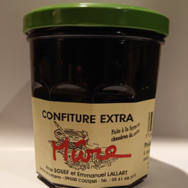 Confiture Mûre  pot de 370 g