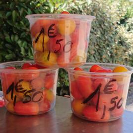 Tomate Cerise -1.50 €-