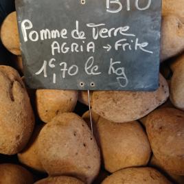 Pomme de Terre -Agria BIO-1 kg-